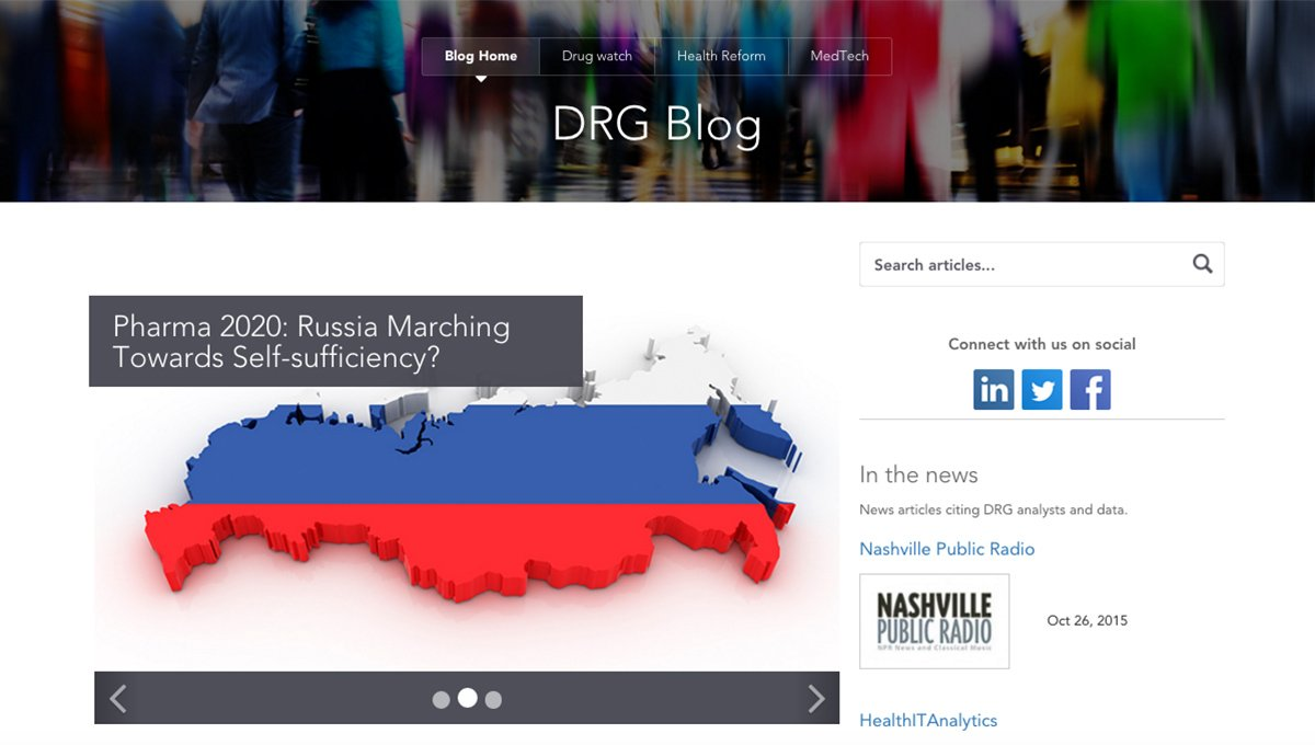DRG – Decision Resources Group
