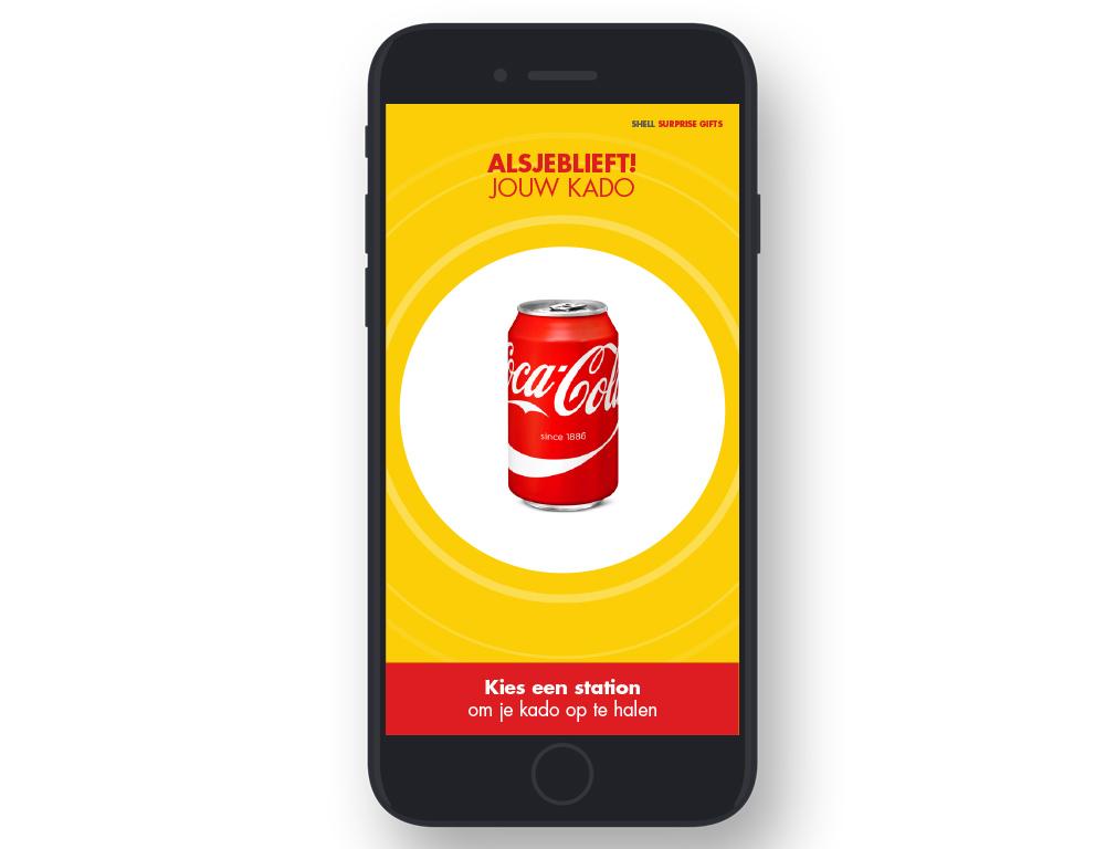 Shell Nederland – Surprise Gifts App